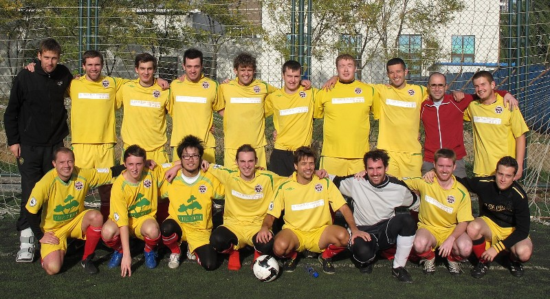 Forbidden City FC squad - November 2010