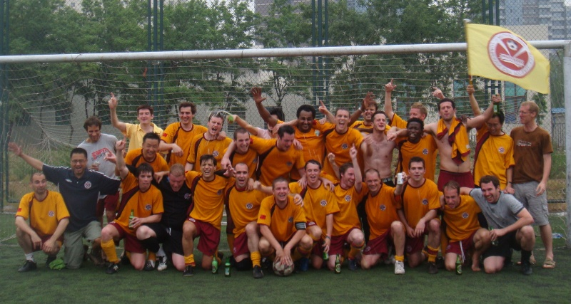 Beijing Football Forbidden City league winners