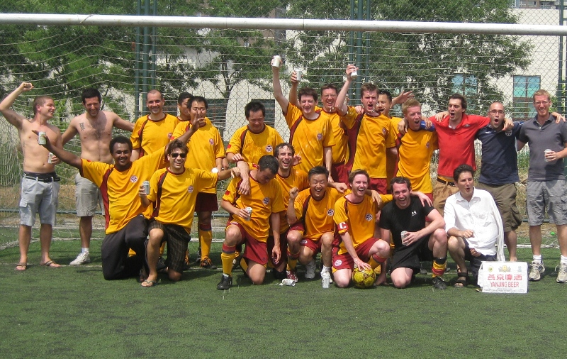 Beijing Football Summer Palace league winners
